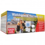 Watchguard Wireless Complete Burglary & Fire Detection System for Your Home or Office